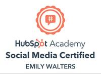 HubSpot Social Media Badge