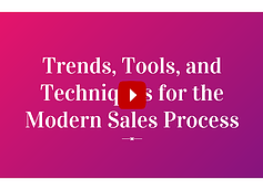 Modern Sales Process