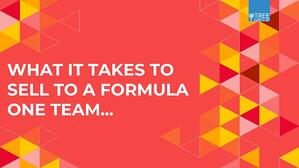 What it takes to Sell to a Formula 1 Team by The Tree Group