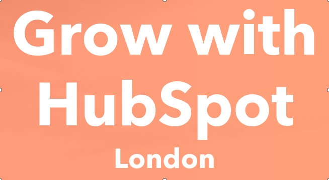 [event] Grow with HubSpot, London - Tuesday, November 13th, 2018