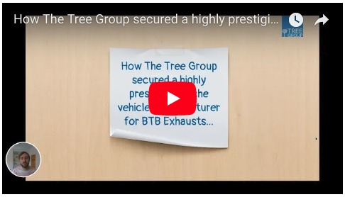 How The Tree Group secured a highly prestigious niche vehicle manufacturer for BTB Exhausts