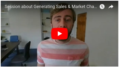 VIDEO - Session about Generating Sales & Market Changes with Steve and James