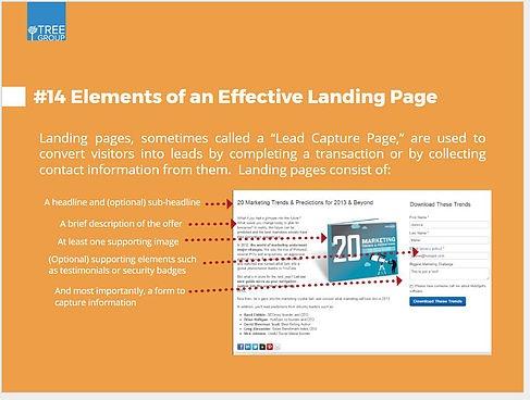 Ëffective Landing Page